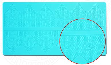 Mata silikonowa do koronek 408x275x2 mm