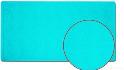 Mata silikonowa do koronek 394x197x2 mm