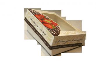"""Karton składany """"smaczne i świeże"""