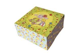 Wielkanoc karton składany bez okienka