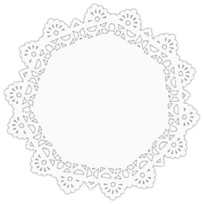 Serwetki Papierowe Okrągłe Komplet Pod Tort 3 Piętrowy 263040 Cm Opak 30 Szt